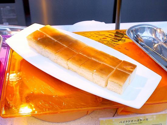 ベイクドチーズケーキ01@東京ベイ舞浜ホテル クラブリゾート DINING SQUARE THE ATRIUM 2015年11月