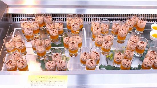 ショコラ アプリコット01@東京ベイ舞浜ホテル クラブリゾート DINING SQUARE THE ATRIUM 2015年11月