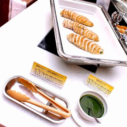 鶏胸肉の香草パン粉焼き01@東京ベイ舞浜ホテル クラブリゾート DINING SQUARE THE ATRIUM 2015年11月