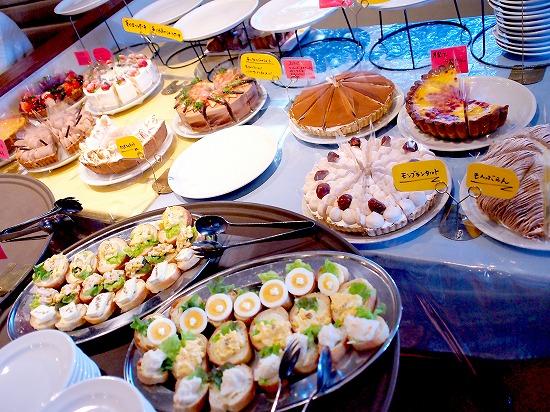 ビュッフェ台@TART&CAKE BUFFET@MACARONI MARKET(マカロニ市場) 松戸店 2016年01月