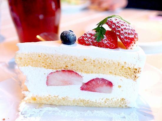 苺のショートケーキ02@TART&CAKE BUFFET@MACARONI MARKET(マカロニ市場) 松戸店 2016年01月