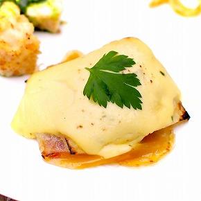 茸リゾットと牛タンのラグー(茸リゾットと牛タンのグラタン)02@東京ベイ舞浜ホテル クラブリゾート DINING SQUARE THE ATRIUM 2015年11月