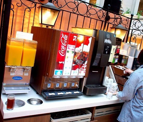 ドリンクコーナー@東京ベイ舞浜ホテル クラブリゾート DINING SQUARE THE ATRIUM 2015年11月