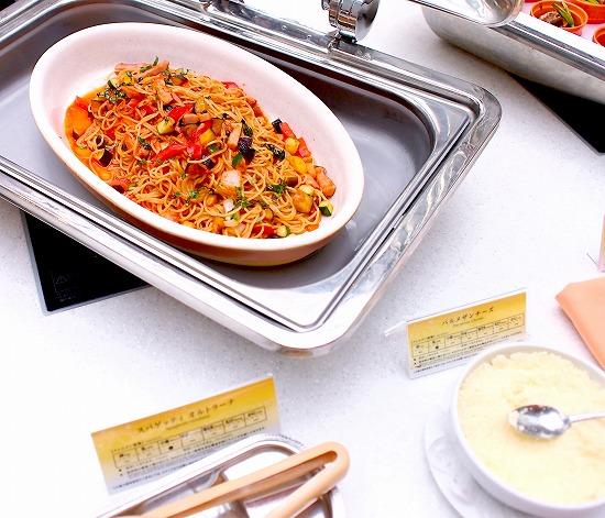 スパゲッティオルトラーナ01@東京ベイ舞浜ホテル クラブリゾート DINING SQUARE THE ATRIUM 2015年11月