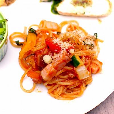 スパゲッティオルトラーナ02@東京ベイ舞浜ホテル クラブリゾート DINING SQUARE THE ATRIUM 2015年11月