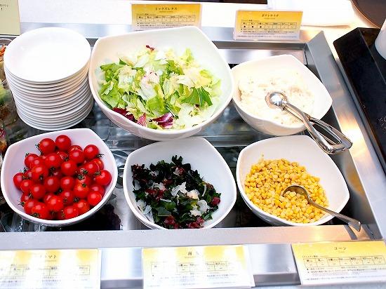 サラダコーナー02@東京ベイ舞浜ホテル クラブリゾート DINING SQUARE THE ATRIUM 2015年11月