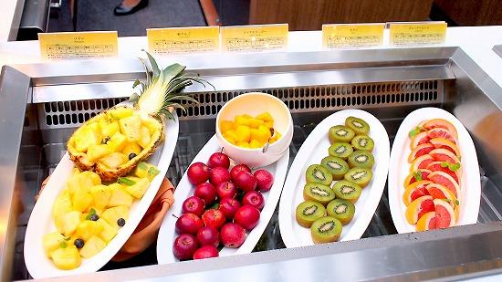 フルーツコーナー@東京ベイ舞浜ホテル クラブリゾート DINING SQUARE THE ATRIUM 2015年11月
