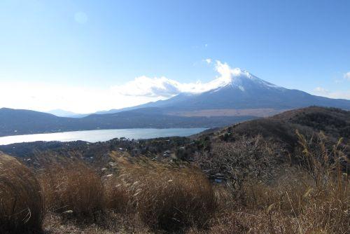 平尾山から富士山