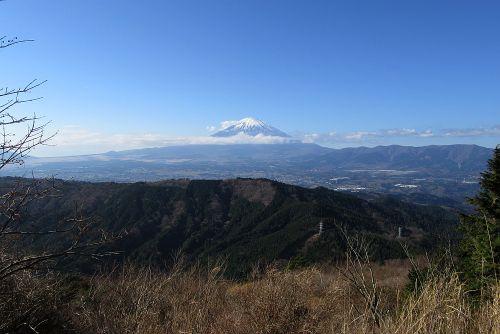 裾野まで富士山