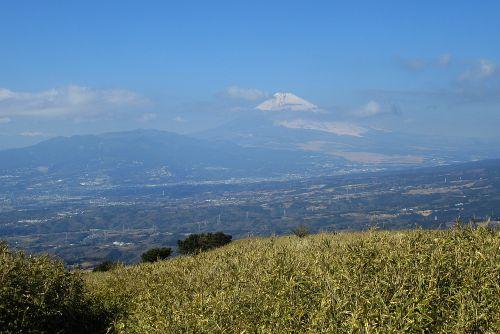 富士山と愛鷹連峰