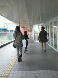 19志津屋へ走る
