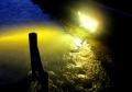 ⑧嵐山光輝く川面