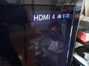 HDMIに切替