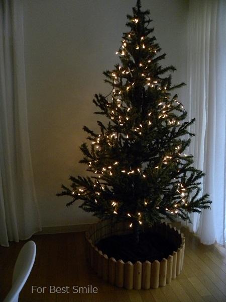 02>2015年のシンプルなクリスマスツリー