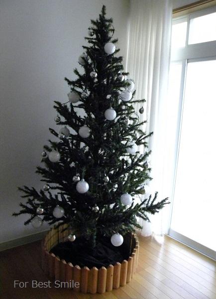 06>2015年のシンプルなクリスマスツリー