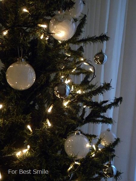09>2015年のシンプルなクリスマスツリー