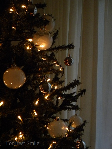 10>2015年のシンプルなクリスマスツリー