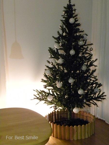13>2015年のシンプルなクリスマスツリー