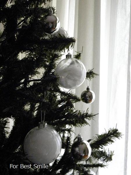 08>2015年のシンプルなクリスマスツリー