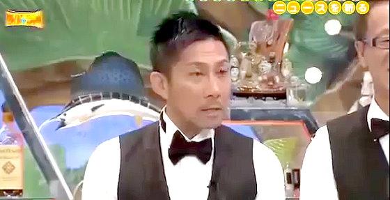 ワイドナショー画像 緊急生放送SP オープニングで松本人志にイジられる前園真聖 2014年6月29日