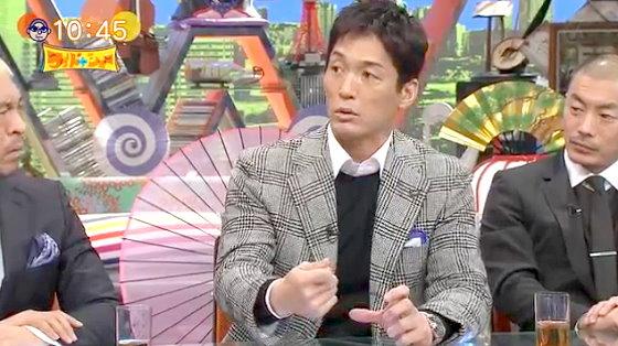 ワイドナショー画像 長嶋一茂 バイ貝がとれないエピソード 2015年12月13日