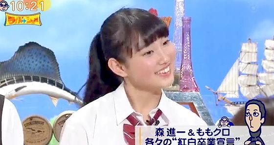 ワイドナショー画像 青木珠菜「好きなアーティストはback number」だが東野幸治には全く伝わらず 2015年12月13日