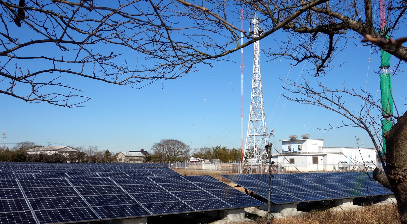 日本放送の電波塔