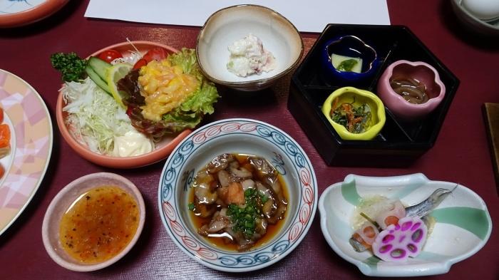 新八屋・食事 (1)