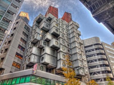 006Nakagin Capsul Tower (中銀カプセルタワー) [Tokyo]