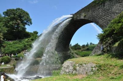 015Tsujunkyo Bridge (通潤橋) [Kumamoto]