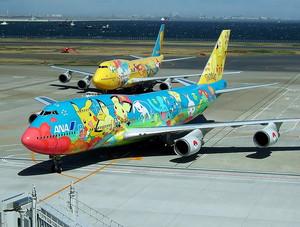 003and Pokémon planes