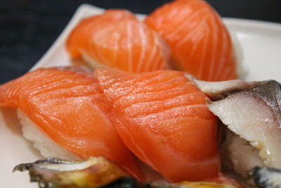 14 - Close-up of salmon