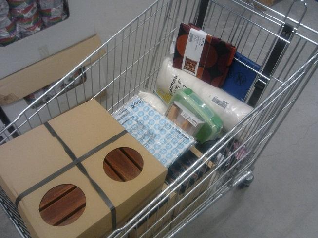 イケアで買い物