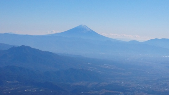 002 赤岳から富士山