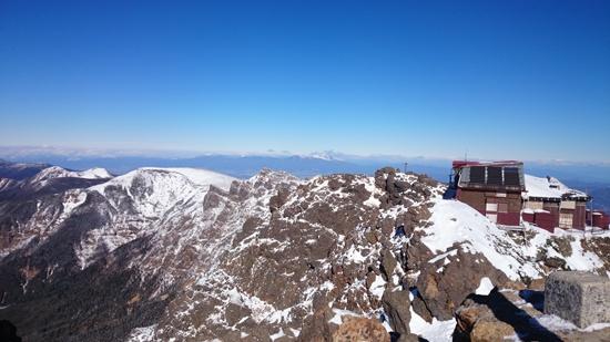 040 赤岳山頂より