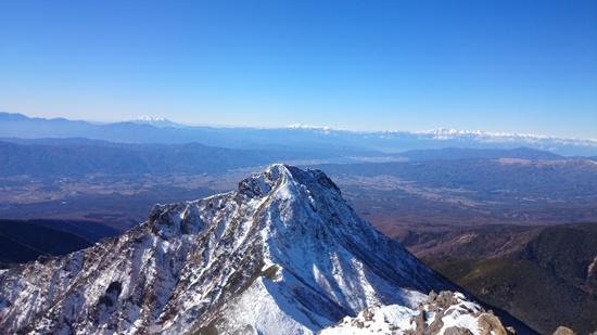 039 赤岳山頂より