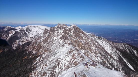 041 赤岳山頂より