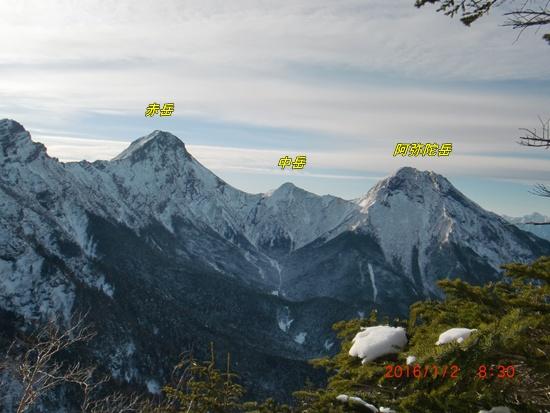 051 赤岳