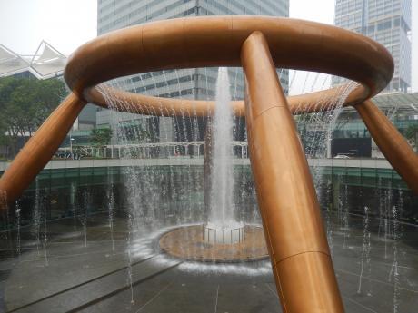 シンガポール2015.10富の噴水