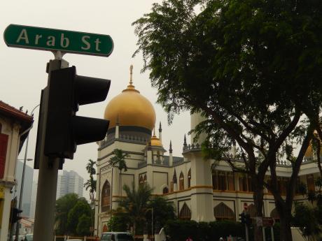 シンガポール2015.10アラブストリート