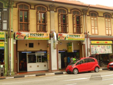 シンガポール2015.10アラブストリート・レストラン