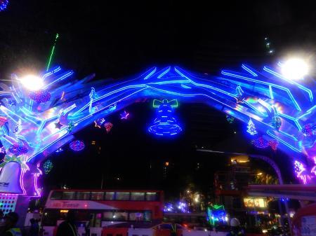 シンガポール2015.12オーチャードクリスマス