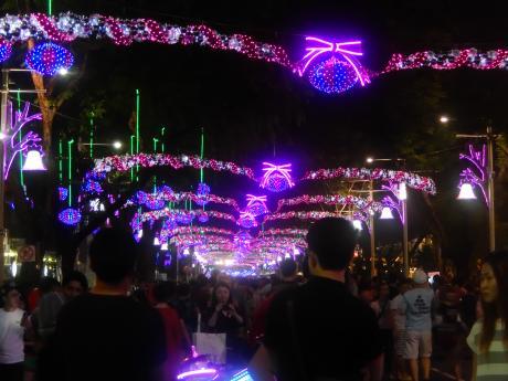 シンガポール2015.12オーチャードイルミネーション