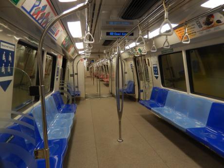 シンガポール2015.12地下鉄