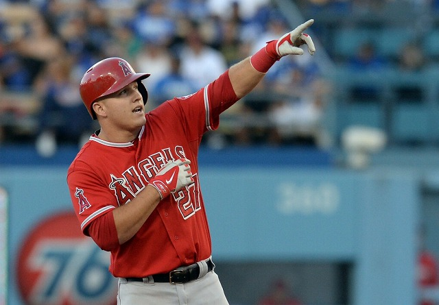 Mike Trout 20151224