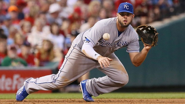 Mike Moustakas 20160215