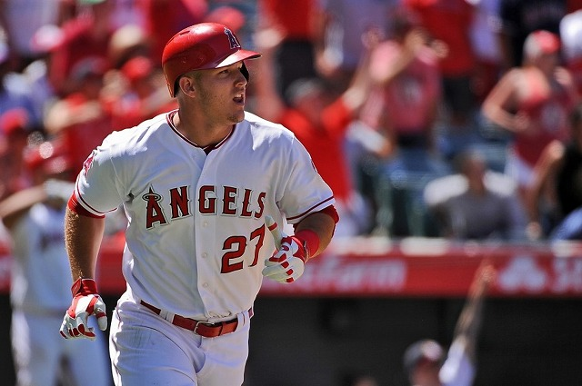Mike Trout 20160217