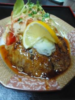 160109インドマグロのほほ肉のステーキ