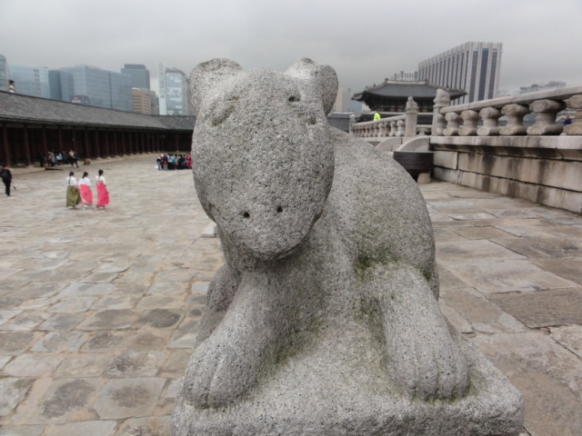 2015年11月14日 景福宮 石像