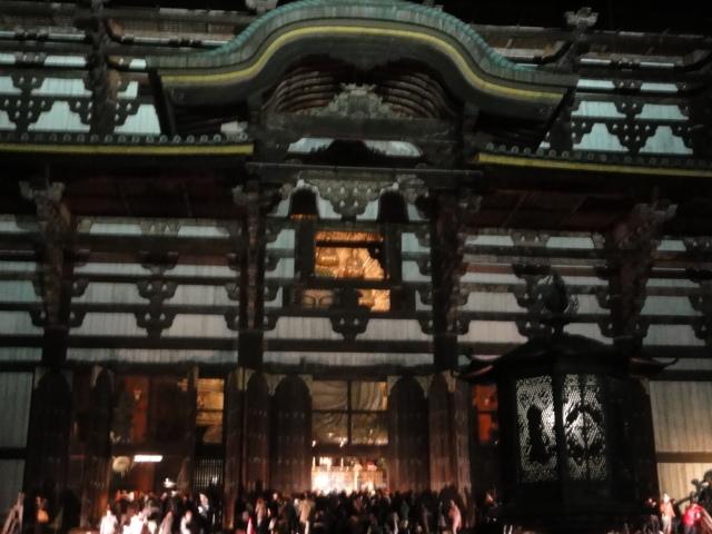 2016年1月1日 東大寺大仏殿